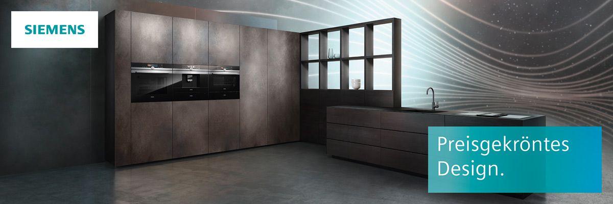 Auszeichnungen für Siemens Hausgeräte Küchenfachhändler